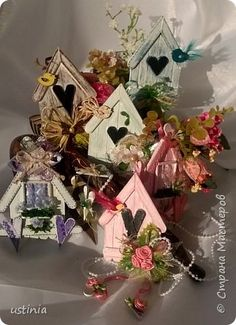 323167_wp_20160204_14_59_46_pro_0 (348x480, 157Kb) Cd Crafts, Popsicle Stick Crafts, Craft Stick Crafts, Diy And Crafts, Crafts For Kids, Paper Crafts, Lolly Stick Craft, Diy Holiday Gifts, Holiday Decor