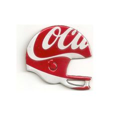 For the true Coca Cola and Football fan out there. This helmet can't take a beating but can start a great conversation. Upcycled Can Football Helmet - Magnet or Christmas Ornament - Recycled soda can.