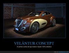 VELÁNTUR CONCEPT - El primer coche de lujo made in Spain 100% eléctrico   Gracias a http://www.cuantarazon.com/   Si quieres leer la noticia completa visita: http://www.estoy-aburrido.com/velantur-concept-el-primer-coche-de-lujo-made-in-spain-100-electrico/