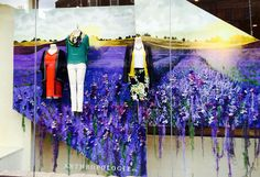 @TRCvm: Anthropology Edinburgh sharing purple heather for the #EdinburghFestival  #vm #retail
