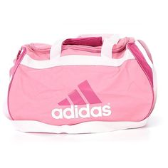 Pre-owned Adidas Weekender: Light Pink Women's Bags (53 BRL) ❤ liked on Polyvore featuring bags, luggage and light pink