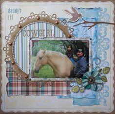 Daddy's Lil Cowgirl - Scrapbook.com