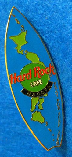 Hard rock cafe miami 2017 3d world map pin hard rock cafe pins nagoya japanese islands chain map sea of japan surfboard 2000 hard rock cafe pin ebay gumiabroncs Images