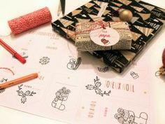 (DIY) Des printables à imprimer ou à personnaliser pour Noël ! #FREE DOWNLOAD • Hellocoton.fr