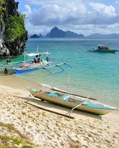 El Nido, Philippines.  One of the Filipino guys that I worked with moved back to his homeland after he retired.  Now I know why.