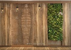 Стеновая деревянная панель INT-037-1