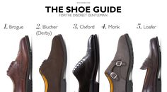 Shoe Guide: Top 5 Shoes Any Businessman Must Own Gentleman Shoes, True Gentleman, Brown Brogues, Flannel Suit, Country Attire, Shoe Closet, Men S Shoes, Leather Shoes, Derby