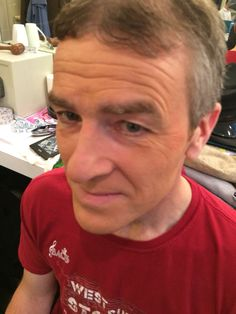 Legally Blonde performance Makeup for Elle's dad