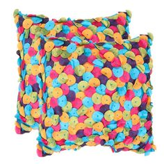 I pinned this Ellie Pillow (Set of 2) from the Pattern & Pop event at Joss and Main!