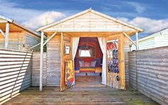 One of ten best beach huts for sale via @Telegraph. Surely the perfect space to write a novel! And if you decide to go for this one in Whitstable, you can be neighbours with Tinder Press author Peggy Riley!