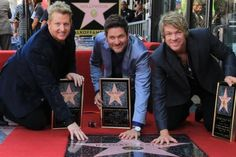 Rascal Flatts Get Star On Hollywood Walk Of Fame. http://frontrownews.com/?p=1141