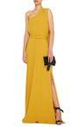 One Shoulder Draped Dress by Co   Moda Operandi