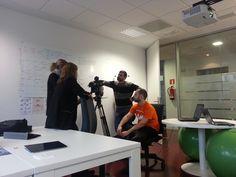 Entrevista de TVE sobre Cómo usar internet para encontrar empleo.