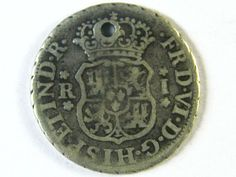ANCIENT SPAIN L1, PERU ONE REALE 1757 AC246 ancient coins , Spanish coins, silver reale coin, ancient Spanish coin