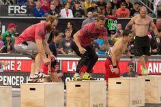 Lucas Parker and Chris Spealler CrossFit Games