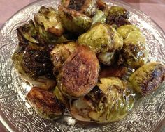 Roasted Dijon Brussels Sprouts Recipe