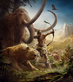 Farcry Primal Art. In my opinion a very great videogame !