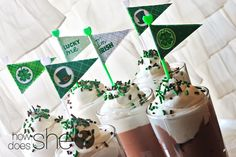 FREE St Patrick's Day Flag Printables
