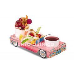 Cadillac rosa menu infantil