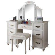 Best Diva Vanity Dresser Stool Makeup Room Organization 640 x 480