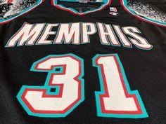 Vintage Vtg 01 Memphis Grizzlies Shane Battier Nba Jersey Champion | Grailed Vintage Basketball Jerseys, Shane Battier, Memphis Grizzlies, Vintage Tops, Nba, Champion, Shopping, Fashion, Moda