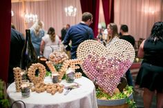 Wine Country Wedding, Savvy Sisters Inc., Event Design, guest book table, corks