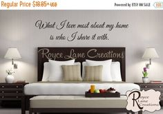 VACATION SALE What I Love Most About My Home por RoyceLaneCreations