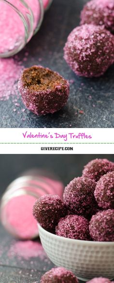 Valentine's Day Truffles will make your beloved one feel special. These are easy, rich and decadent chocolate truffles. A cheap yet elegant gift! | giverecipe.com | #valentine's #chocolate