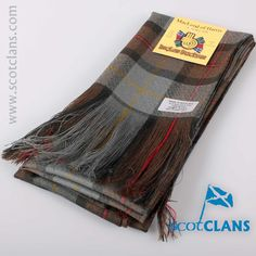 McLeod Weathered Tartan Sash. Free worldwide shipping available