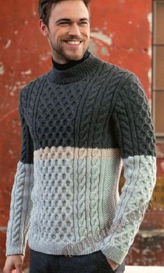 Пуловер (м) 01*225 FAM №4756