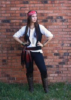 pirate costume ideas women homemade - Google Search: