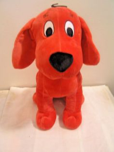 "Stuffed Plush Clifford the Big Red Dog 12""  Kohls Cares Plush Stuffed Animal #KohlsCares"
