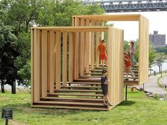 Untitled (Two Viewing Rooms, Offset) by Michael Clyde Johnson is a sculpture, a … – Pavilion Architecture Design, Landscape Architecture, Landscape Design, Architecture Diagrams, Pavilion Architecture, Architecture Portfolio, Garden Design, Urban Furniture, Street Furniture