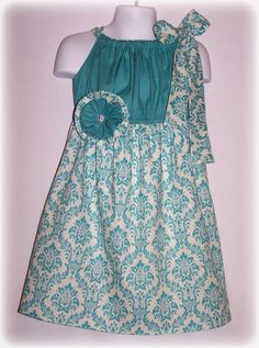Custom Boutique Clothing Girls Dress Spring by sewsweetsmocking, $45.00 adorable!