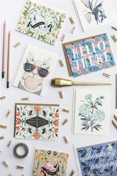 #greetingcards #stationery Oh So Beautiful Paper: Quick Pick: Amy Heitman