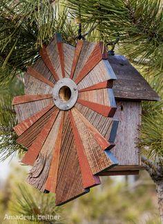 Roundhouse Works birdhouse