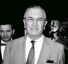 "Joseph ""Joey Bananas"" Bonanno (1905 - 2002) Mafia boss, popularly known as Joe Bananas, former member of ""The Commission"" that ran organized crime, forced to retire when he attempted to kill off the heads of fellow mafia families and take control"