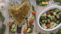 Rombo gratinato con verdure