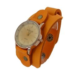 Relógio Alaranjado