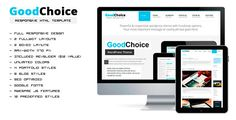 Shopping GoodChoice Responsive HTML Templatetoday price drop and special promotion. Get The best buy