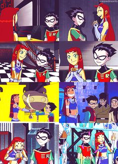 myedits robin teen titans starfire dick grayson koriand'r ugh otp Robstar look at the way he looks at her HELLO ROBSTAR I haven't made a robstar post in a while EVEN IF HE'S WEARING A MASK YOU CAN TELL HE'S LOOKING