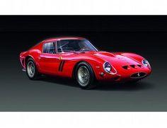 The Revell Ferrari 250 GTO Model Kit in 1/24 scale from the plastic car model kits range accurately recreates the real life Italian sports car.