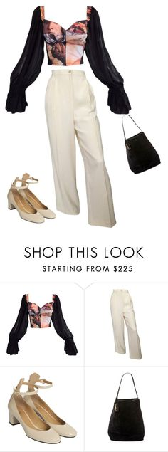 """Untitled #90"" by jadior ❤ liked on Polyvore featuring Dolce&Gabbana, De Siena and Yves Saint Laurent"