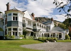 Otahuna Lodge - Luxury Lodge Christchurch, New Zealand #travel