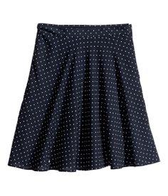 :: polka dot skirt ::