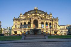 8 Brilliant Photos of Kiev Ukraine - National Opera House Largest Countries, Countries Of The World, Sea Of Azov, Kiev Ukraine, Cities In Europe, Tourist Places, Place Of Worship, Built Environment, Concert Hall