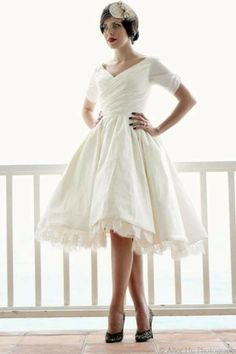 short wedding dresses | Short Wedding Dresses | Perfect for the Chic Bride | Trendsetter ...