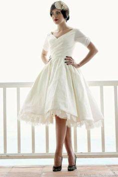 short wedding dresses | Short Wedding Dresses | Perfect for the Chic Bride | Trendsetter ...