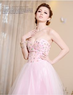 2013 spring new lovely princess wedding dress