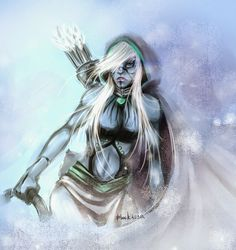 Pinterest BLACK: Drow Ranger